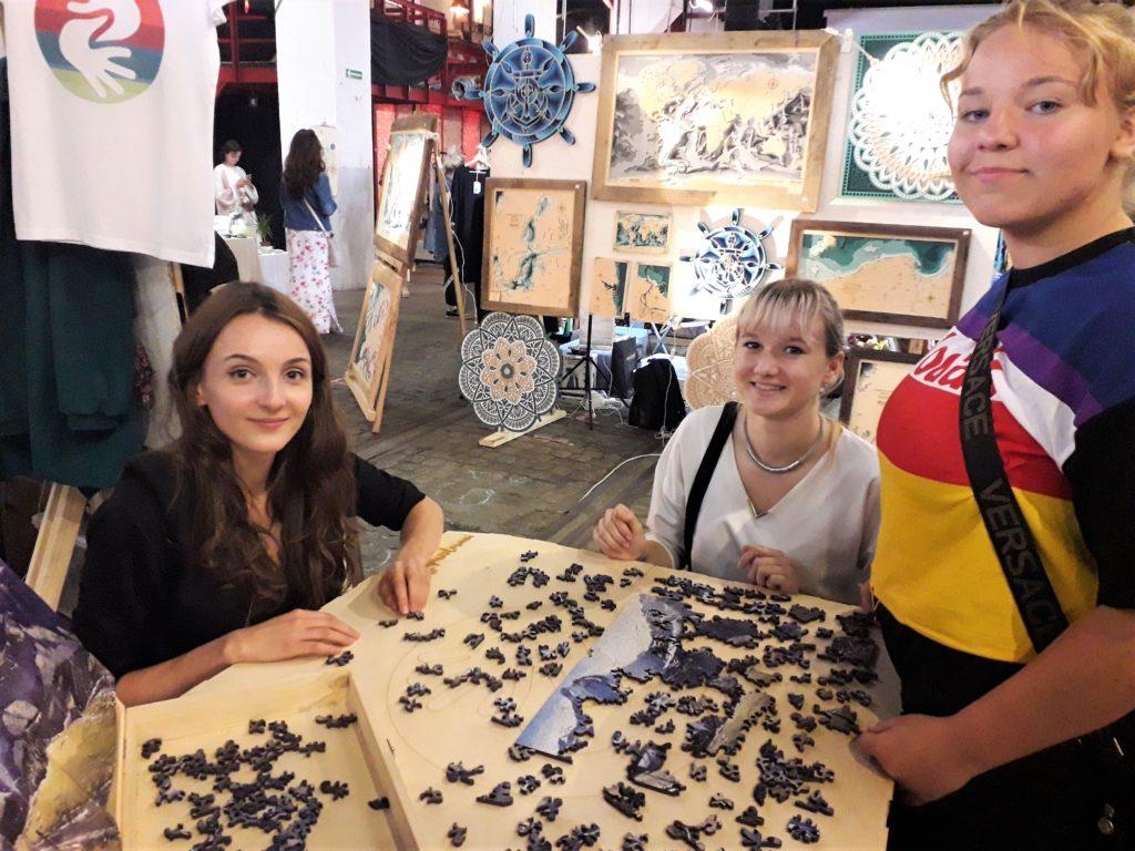 Nietypowe Puzzle Drewniane Motywy