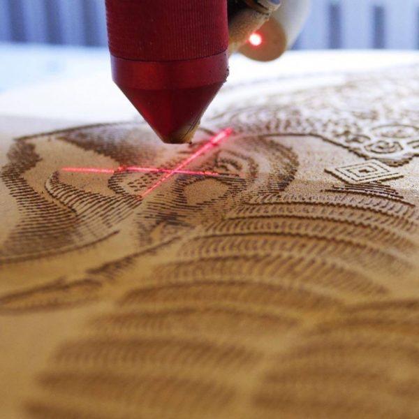 personalizacja mapy laser