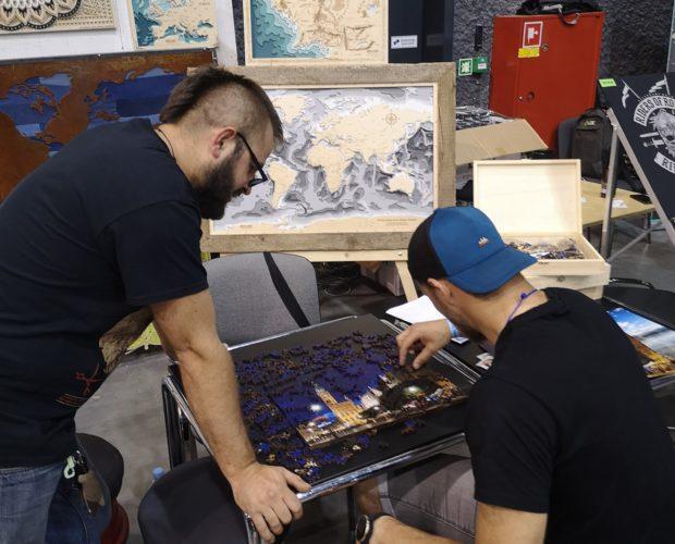 Nietypowe Puzzle Drewniane Tatto Konwent